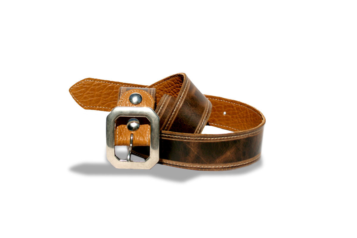 Rust Bison Reversible Belt