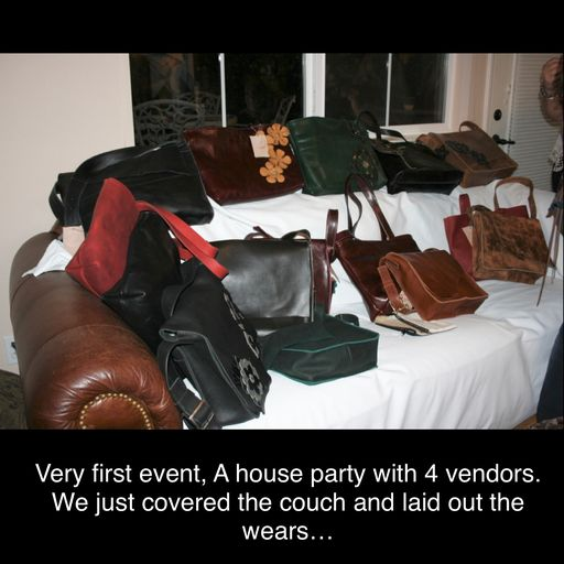 1st show was a private house party