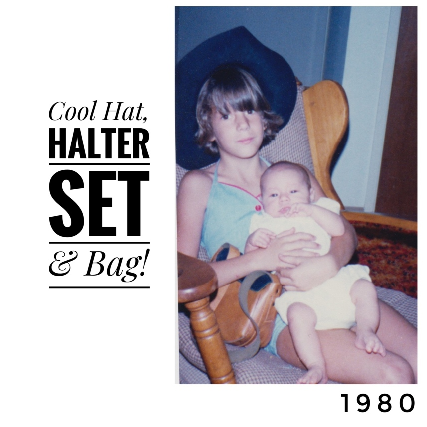 Hat, Halter Set, Hand bag